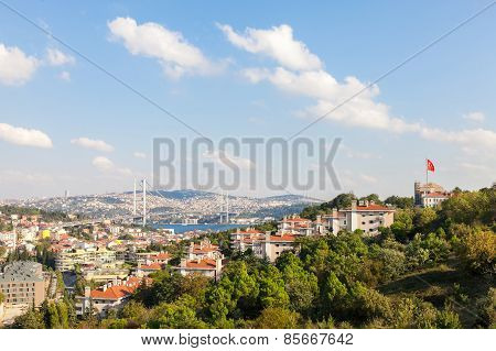 Views of the Bosphorus and Istanbul