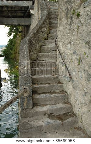 Old Narrow Stairs