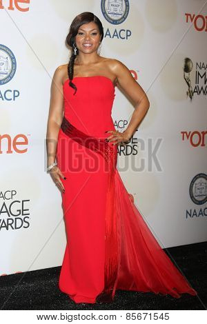 LOS ANGELES - FEB 6:  Taraji P. Henson at the 46th NAACP Image Awards Press Room at a Pasadena Convention Center on February 6, 2015 in Pasadena, CA