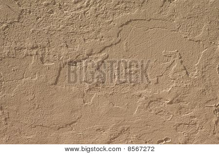 Wall and paint