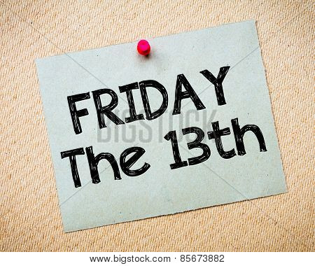 Friday The13Th Message
