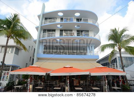 Art Deco Style Congress in Miami Beach