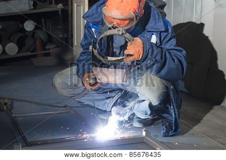 Welding of metal products