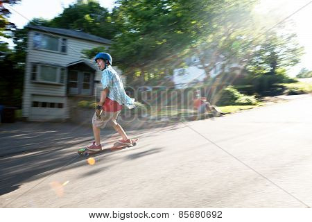 Longboarding Lifestyle Photoshoot
