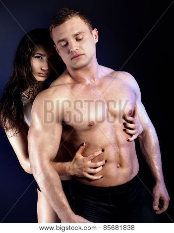 Sexy Couple Posing.