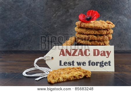 Traditional Anzac Day Biscuits