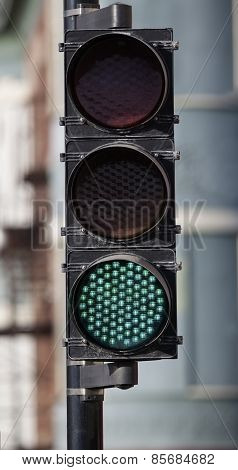 Green Led Traffic Light