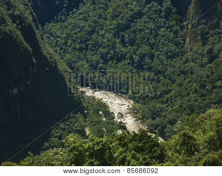 Urubamba River Distant View