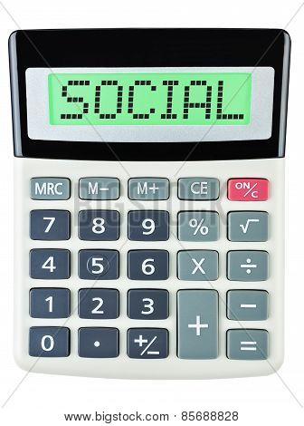 Calculator With Social