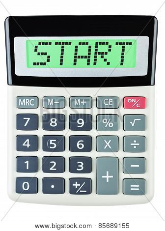 Calculator With Start