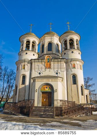 Cathedral of the Ascension in Zvenigorod