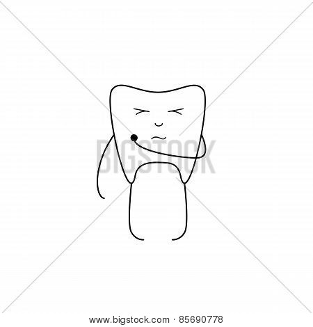 Tooth With Hole