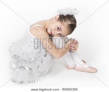 Portrait of a beautiful young ballerina