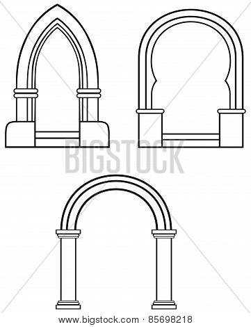 Silhouette classic arch