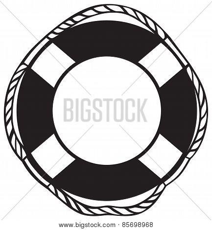 Symbol lifebuoy