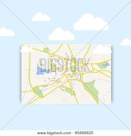 Navigration map