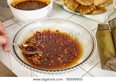 Spicy sauce based for