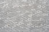 stock photo of roofs  - Mountain home roof - JPG