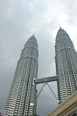 foto of klcc  - klcc building the twin towers landmark in malaysia - JPG