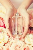 picture of perfume  - close up of woman - JPG