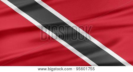 Trinidad And Tobago Flag.