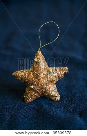 Decorative Christmas Star, Vintage Style