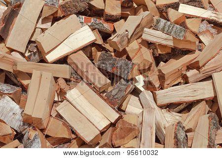 Warehouse Of Fresh Wood
