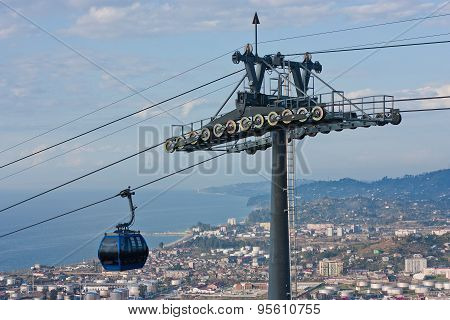 Cable Car Argo In Batumi