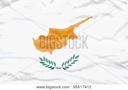 Cyprus flag.