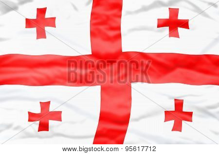 Georgia flag.