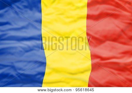 Romania flag.