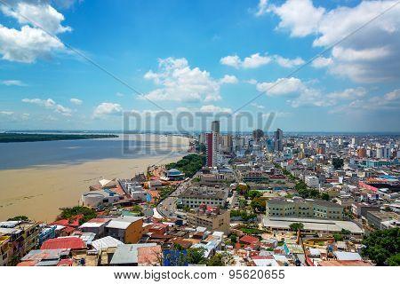 Guayaquil, Ecuador Cityscape