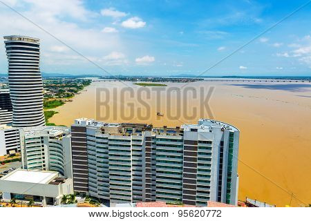 Tower And Guayas River