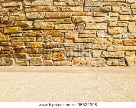Modern Stone Wall Backdrop