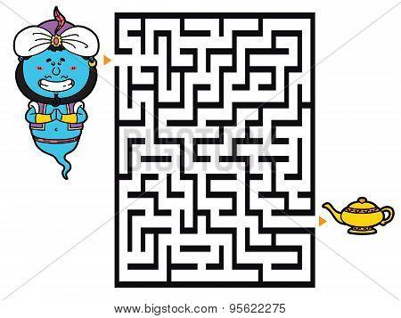 Genie labyrinth