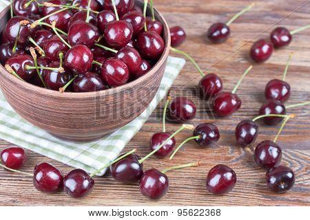Cherries In The Bowl