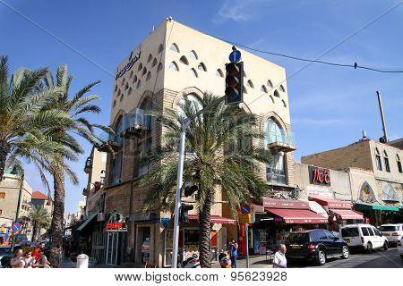Street In Jaffa, Israel