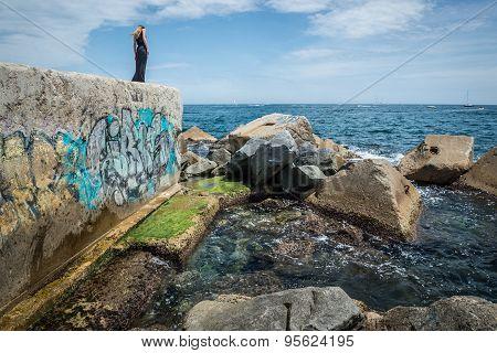 Sea In Barcelona