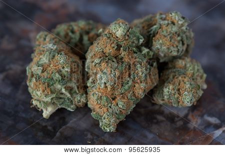 Pile of Blueberry Headband Medical Marijuana