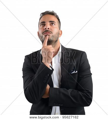 Decision of a  businessman