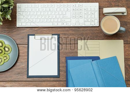 Clipboard And Books