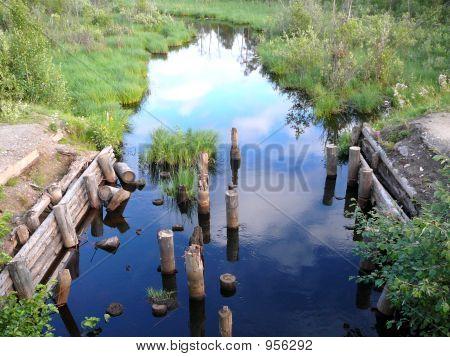 Remains Of Bridge