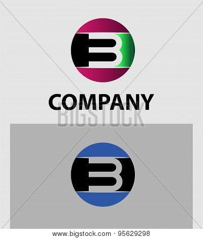 Logo number 3 vector design template