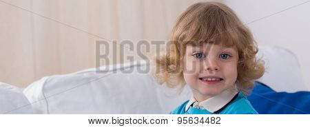 Portrait Of Child
