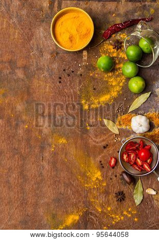 Spices For Cooking And Health.
