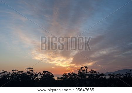 Soft Australian Sunrise
