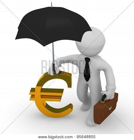 3D Financial Concept