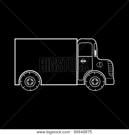 Small Truck For Transporting Medium Heavy Loads