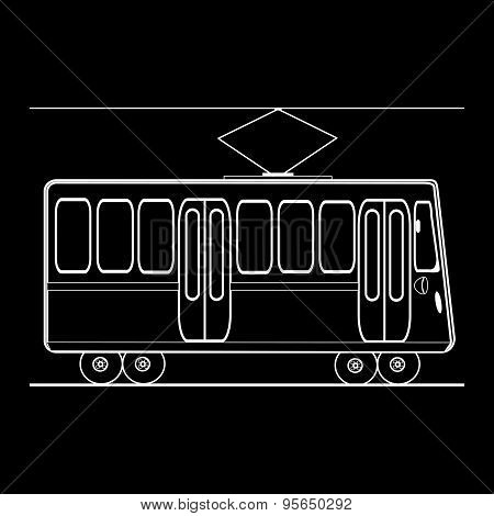 Tram City Public Municipal Passenger Transport