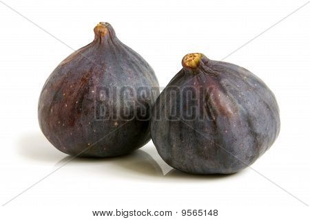 Two Ripe Figs